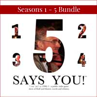 Seasons 1-5 Bundle